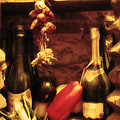 Madrid Food And Wine Still Life I by Greg Matchick
