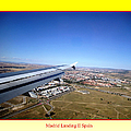 Madrid Landing II Spain by John Shiron