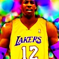 Magical Dwight Howard Laker by Paul Van Scott