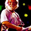 Magical Jerry Garcia by Paul Van Scott