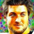 Magical Tim Tebow Face by Paul Van Scott