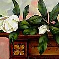Magnolias by Jolante Hesse