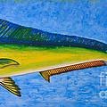 Mahi Mahi Dolphin Fish by Susan Cliett