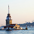 Maiden Tower In Istanbul by Artur Bogacki