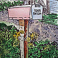 Mailbox Sketchbook Project Down My Street by Irina Sztukowski