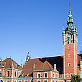 Main Railway Station In Gdansk by Artur Bogacki