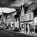 main road through the picturesque small town of Callander scotland uk by Joe Fox