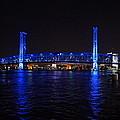 Main Street Bridge At Night by Alan Hutchins