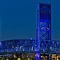 Main Street Bridge Jacksonville by Debra and Dave Vanderlaan