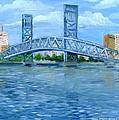 Main Street Bridge by Larry Whitler