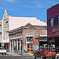 Main Street In Silver City Nm by Susanne Van Hulst