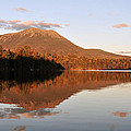 maine 25 Baxter State Park Mt. Khatahdin Reflection in Daicey Pond by Terri Winkler