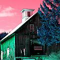 Maine Barn by Marie Jamieson