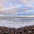Maine Ocean  by Wim Haverkamp