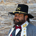 Major General Lunsford L.lomax Portrayed By Dan L. Carr 150th Anniversary Of The American Civil War  by Jonathan Whichard