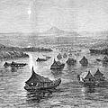 Malaya: Perak River, 1876 by Granger