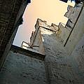 Malcesine Castle-lago Di Garda by Jennie Breeze