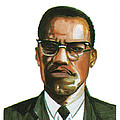 Malcolm X by Emmanuel Baliyanga