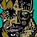 Malcolm X Full Color by Kamoni Khem