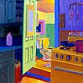 Malden Bathroom 1977 by Nancy Griswold