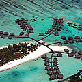 Maldives Aerial by Jane Rix