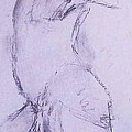 Male Nude 4281 by Elizabeth Parashis