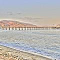 Malibu Pier North by Richard Omura