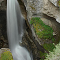 Maligne Canyon 2 by Robert Caddy