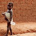 Malnourished Child by Mauro Fermariello