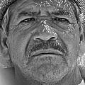 Man And Hat by David Resnikoff