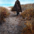Man In Cape And Top Hat By The Sea by Jill Battaglia
