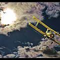 Man In Flight by Blake Richards