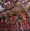 Man Mo Temple by Tracy Fetter