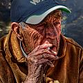 Man Smoking by John Herzog