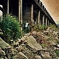 Man Under Bridge by Jill Battaglia
