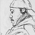 Man With Earphones by Anjali Sarkar