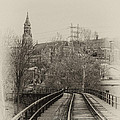 Manayunk From The Tressel Tracks by Bill Cannon
