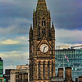 Manchester Town Hall by Heather Applegate