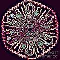 Mandala Fluid Emotions by Renee Trenholm