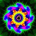 Mandala Textured - Fractal by Ester  Rogers