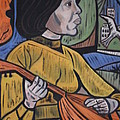 Mandolin Girl by Val Oconnor
