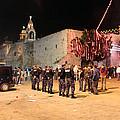 Manger Square At Night by Munir Alawi