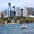 Manhattan Backdrop by Kristin Elmquist