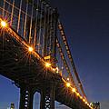 Manhattan Bridge by Dave Mills
