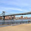 Manhattan Bridge1 by Zawhaus Photography