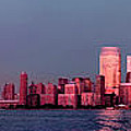 Manhattan In Pink by S Paul Sahm