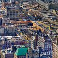 Manhattan Lincoln Tunnel Entrance by Mark Dodd