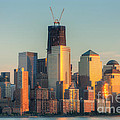 Manhattan Sunset Reflections by Clarence Holmes