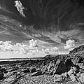 Manorbier Rocks by Steve Purnell