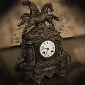Mantel Clock by Mike McGlothlen
